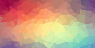 Polygonrengöringsdukbakgrund Royaltyfri Fotografi