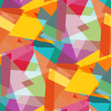 Polygons colored abstract seamless background vector illustration. Vector eps 10 stock illustration