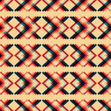 Polygons psychedelic colored geometric background pixels Royalty Free Stock Photo