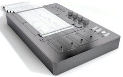 Polygraph Lie Detector Machine Stock Image