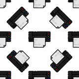 Polygraphy flat pattern. All of Print. Vector illustration, EPS 10 Royalty Free Stock Image