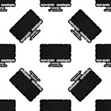 Polygraphy flat pattern. All of Print. Vector illustration, EPS 10 Royalty Free Stock Photos