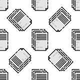 Polygraphy flat pattern. All of Print. Vector illustration, EPS 10 Stock Image