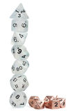 Polyhedron Dice Tower Stock Photography