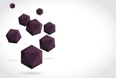 Polyhedrons Royalty Free Stock Photography
