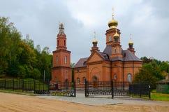 Polykovichskaya Krynica, Holy Trinity Church, Mogilev district, Stock Photo