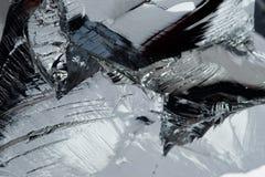 Polykristallines Silikon Stockbild