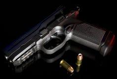 Polymer handgun Stock Photography