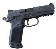 Polymer handgun Stock Image