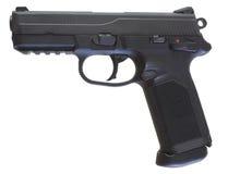 Polymer handgun profile Royalty Free Stock Images