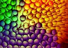 Polymer-Plastik eingekapseltes Kohlenstoff-Na Lizenzfreie Stockfotos