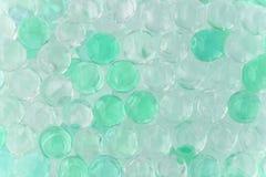 Polymergel kreisen Sie hydrogelballperlenballon-Blasenbeschaffenheit ein stockfotografie
