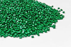 Polymeric dye. Colorant for plastics. Pigment in the granules. Polymeric dye. Plastic pellets. Colorant for plastics. Pigment in the granules Stock Images