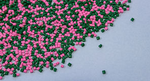 Polymeric dye. Plastic pellets. Colorant for  the granules. Stock Photography