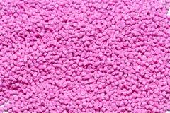 Polymeric färg för plast- Pigment i partiklarna Plast- partiklar Arkivfoton