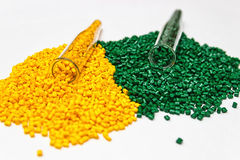 Polymerische Färbung Farbstoff für Plastik Pigment in den Körnchen Stockbilder