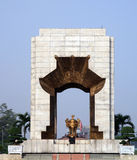 The Polynational War Memorial. Constructed in 1993 in a fusion of traditional Vietnamese and modernist architecture,[the memorial commemorates men and women who stock image