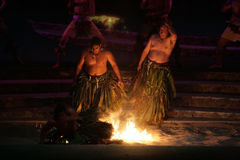 Polynesia cultural celebration Stock Photography