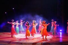 Polynesia dance Stock Photography