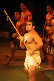 polynesian ратник Стоковое фото RF