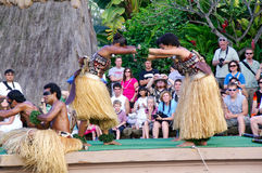 Polynesian Cultural Center Royalty Free Stock Images