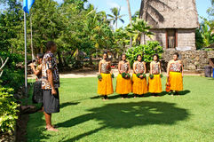 Polynesian Cultural Center Stock Photo
