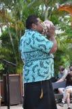 Polynesian Cultural Center in Oahu, Hawaii Stock Photo