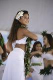 Polynesian dancers Stock Photos