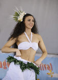 Polynesian dancers Stock Photography