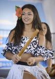 Polynesian dancers Stock Photo