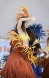 Polynesian dancers Royalty Free Stock Image