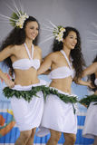 Polynesian dancers Stock Photography