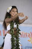 Polynesian dancers Royalty Free Stock Photography