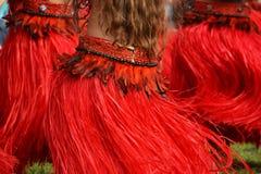 Polynesian dansare arkivbilder