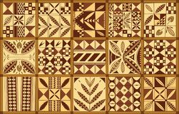 Polynesian ethnic style ornament Royalty Free Stock Photo