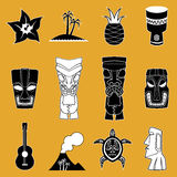 Polynesian Icon Illustrations Stock Photos