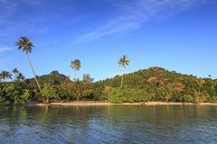 Polynesian landscape Royalty Free Stock Image