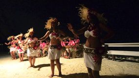 Polynesian Pacific Island Tahitian female dancers Royalty Free Stock Images