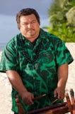 Polynesian Pacific Island Tahitian Music Stock Image