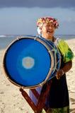 Polynesian Pacific Island Tahitian Music Stock Photography