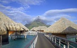 Polynesian paradise Stock Images