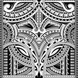 Polynesian prydnad som är passande för mufftatuering vektor illustrationer