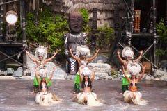 Polynesian show Stock Photo