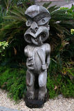 Polynesian Statue Royalty Free Stock Photography