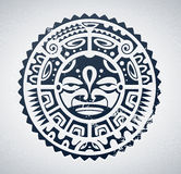 Polynesian tattoo Royalty Free Stock Photography
