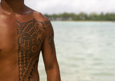 Polynesian tattoo Royalty Free Stock Images