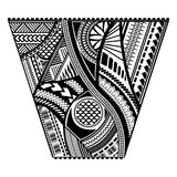 Polynesian tattoo style sleeve vector design. Stock Photos