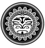 Polynesian tattoo Stock Image