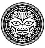 Polynesian tattoo Royalty Free Stock Photography
