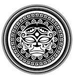 Polynesian tattoo Stock Photography